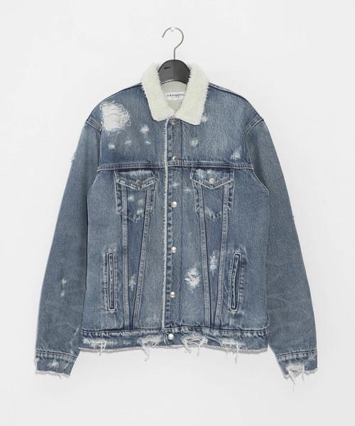 【超目玉】 【セール】グランジクラッシュボアデニムジャケット(デニムジャケット)|VANQUISH(ヴァンキッシュ)のファッション通販, カトリグン:f452da20 --- svarogday.com