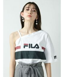 FILA(フィラ)の【EMODA×FILA】ワンショルダーTシャツ(Tシャツ/カットソー)