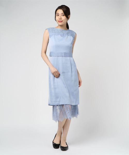 人気を誇る ペチツキ2Wayドレス 結婚式 de/二次会/お呼ばれワンピース(ドレス) Debut|LAISSE PASSE(レッセパッセ)のファッション通販, AquariusShop:58b46f68 --- arguciaweb.com