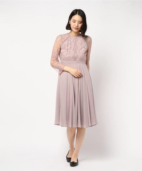最安価格 レース切替シフォンフレアースカート ワンピース(ドレス) Doll/|Dorry Dorry Luxe Doll(ドリードール)のファッション通販, BLANC LAPIN [ブランラパン]:0465d997 --- 5613dcaibao.eu.org