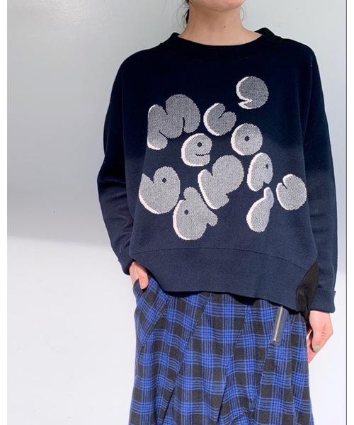 【後払い手数料無料】 B:ロゴニットソー(ニット/セーター)|mercibeaucoup,(メルシーボークー)のファッション通販, 人気TOP:227c3cf9 --- skoda-tmn.ru