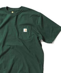 Carhartt(カーハート)のcarhartt(カーハート) ビッグシルエット ポケット半袖 ロゴ Tシャツ Workwear Pocket 1/2 Sleeve T-Shirts(Tシャツ/カットソー)