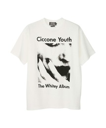 SONIC YOUTH/CICCONE YOUTH Tシャツホワイト