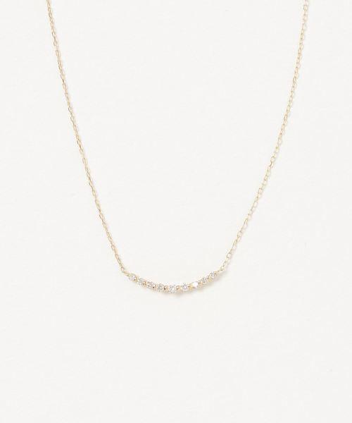 魅力的な 【セール セール,SALE,con】K18/ダイヤ ラインネックレス(ネックレス)|con affetto(original)(コン アフェット)のファッション通販, ラブラブ:83afe343 --- wm2018-infos.de