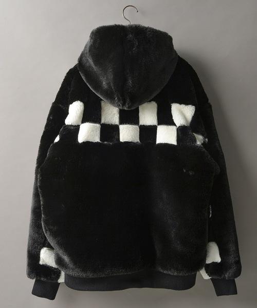 人気カラーの DankeSchon/ダンケシェーン Original/LHP LHP/Checker Fur Blouson/チェッカーファーブルゾン(ブルゾン) Fur DANKE SCHON(ダンケシェーン)のファッション通販, リノベーションホーム:c361a3a0 --- 888tattoo.eu.org