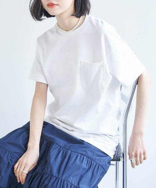 GILDAN/ギルダン スーパービッグシルエット ポケット半袖Tシャツ/シンプルカットソー/オーバーサイズ