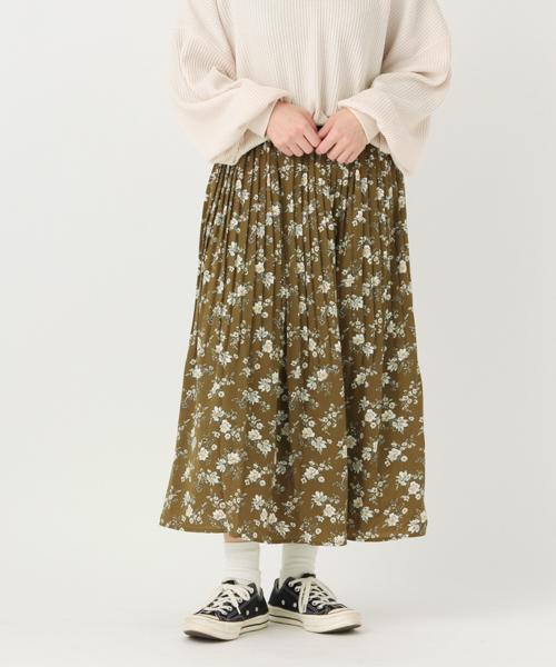柄アソートプリーツスカート