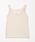 natural couture(ナチュラルクチュール)の「バックネックレースタンク(キャミソール)」 グレイッシュベージュ