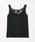 natural couture(ナチュラルクチュール)の「バックネックレースタンク(キャミソール)」 ブラック