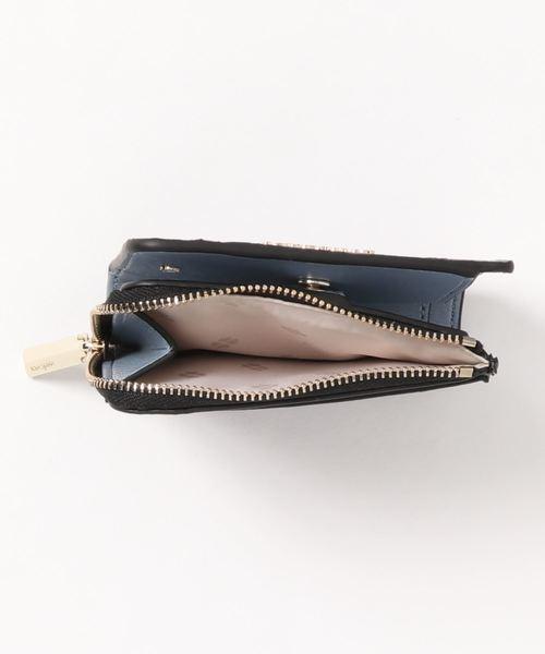 kate spade new york(ケイトスペード ニューヨーク)の「スペンサー スモール バイフォールド ウォレット(財布)」|詳細画像