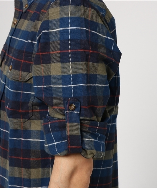Singi Heavy Flannel Shirt (FJALLRAVEN/フェールラーベン)