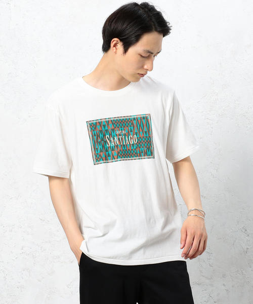 SC AND-RIDE ORIENTAL PRINT-Tシャツ ◆