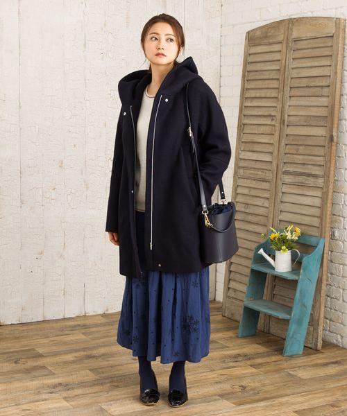 数量は多い  【セール】『TRENCH&COAT(トレンチアンドコート)』フード付きハーフコート(その他アウター)|sabstreet SOLO my my standard(サブストリートマイスタンダード)のファッション通販, ツキガタムラ:202dc41e --- blog.buypower.ng