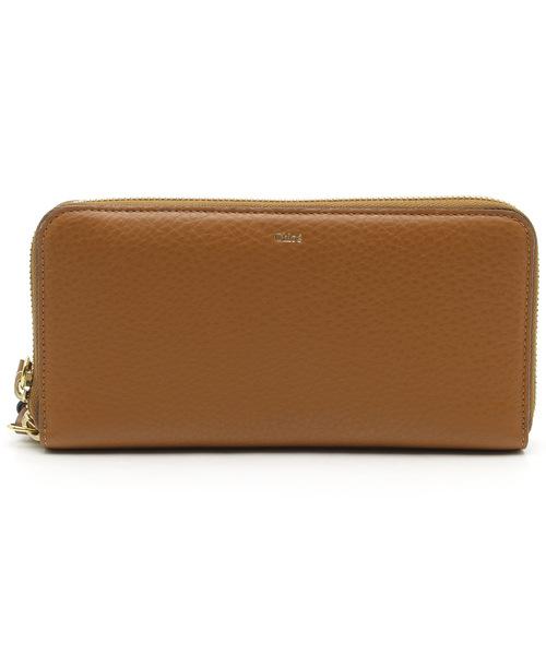 7a6f1bfad34d Chloe(クロエ)の古着「 アルファベット ラウンドファスナー長財布(財布)」