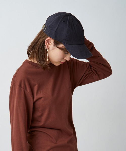 【newhattan ニューハッタン】 キャップ STONE WASHED TWILL CAP