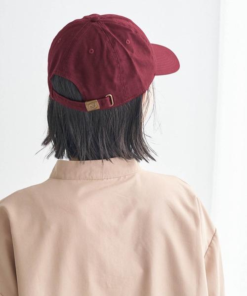 【newhattan】 ニューハッタン キャップ STONE WASHED TWILL CAP/カラバリキャップ