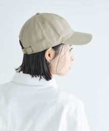 【newhattan】 ニューハッタン キャップ STONE WASHED TWILL CAPカーキ