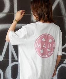 MAUI and Sons/マウイアンドサンズ S/S T-SHIRT COOKEI LOGO PRINT バッククッキーロゴプリント半袖Tシャツホワイト系その他