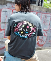 MAUI and Sons/マウイアンドサンズ S/S T-SHIRT COOKEI LOGO PRINT バッククッキーロゴプリント半袖Tシャツグレー系その他