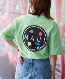 MAUI and Sons/マウイアンドサンズ S/S T-SHIRT COOKEI LOGO PRINT バッククッキーロゴプリント半袖Tシャツグリーン系その他
