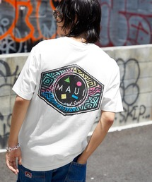 MAUI and Sons/マウイアンドサンズ S/S T-SHIRT COOKEI LOGO PRINT バッククッキーロゴプリント半袖Tシャツホワイト系その他2