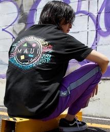 MAUI and Sons/マウイアンドサンズ S/S T-SHIRT COOKEI LOGO PRINT バッククッキーロゴプリント半袖Tシャツブラック系その他2