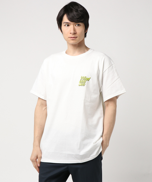 WIND AND SEA / グラフィックプリントTシャツ K
