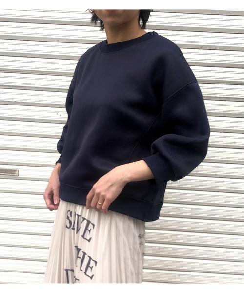 【Eimee Law】ナイロンミルキースウェット