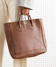 YOUNG&OLSEN The DRYGOODS STORE(ヤングアンドオルセン)のYOUNG & OLSEN/ヤングアンドオルセン EMBOSSED LEATHER TOTE M/エンボスレザートート(Mサイズ)(トートバッグ)
