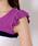 MISCH MASCH(ミッシュマッシュ)の「配色ブロック袖フリルニット(ニット/セーター)」|詳細画像