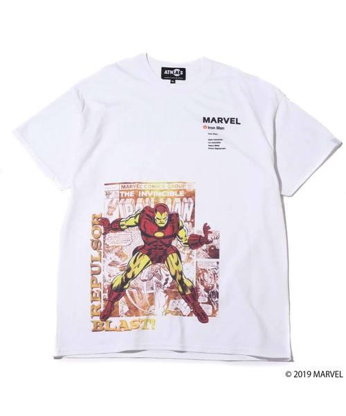 MARVEL x ATMOS LAB TEE (IRON MAN)  【SP】