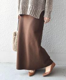 Khaju(カージュ)のKhaju:ウールブレンドセミフレアスカート◆(スカート)