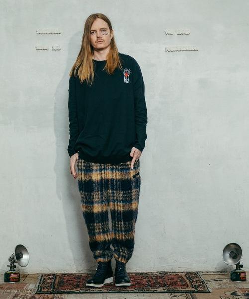 STOF(ストフ)の「2020秋冬 ルーツ刺繍プルオーバー(ニット/セーター)」|詳細画像