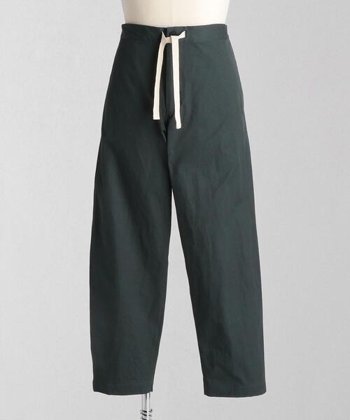 <LOEFF(ロエフ)> コットン チノ ドローストリング パンツ MEN'S