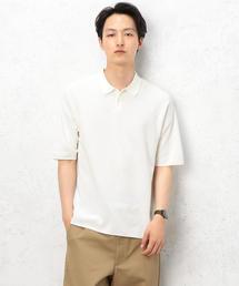 ST ウォッシャブル ポロシャツ 5分袖 <ウォッシャブル> ◆