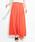 haco!(ハコ)の「楽ちん便利な きれいめカットソーマキシスカート(スカート)」|オレンジ
