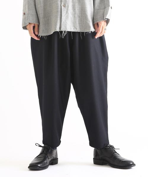 marka(マーカ)の「marka / マーカ:SAROUEL PANTS:M18C-13PT02C [COR](パンツ)」 ブラック