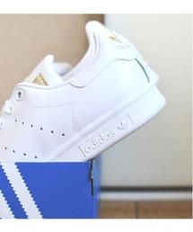 adidas(アディダス)の「adidas アディダス STAN SMITH FD スタンスミス FD F36575 *WHT/WHT/GLD(スニーカー)」