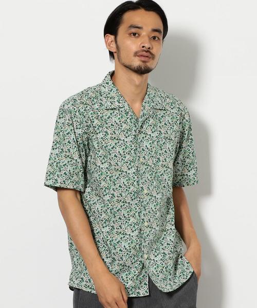 CM リバティ オープンカラー シャツ 半袖 Ⅱ  ◆