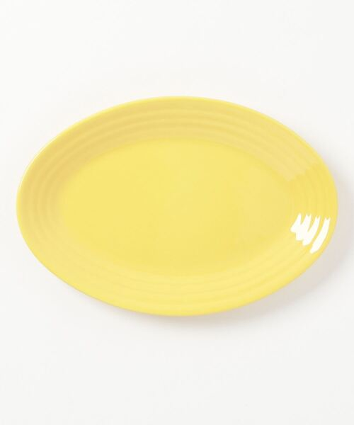 C.E.L.STORE(セルストア)の「BAUER POTTERY/バウアーポッタリー OVAL PLATTER SMALL(食器)」|イエロー