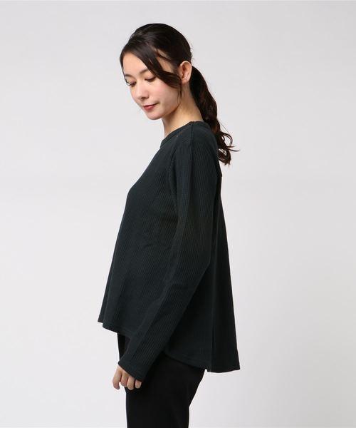 【LIEN】ワッフル長袖Tシャツ