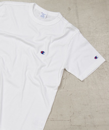 Champion(チャンピオン)のWEGO/Championワンポイント刺繍Tシャツ(Tシャツ/カットソー)