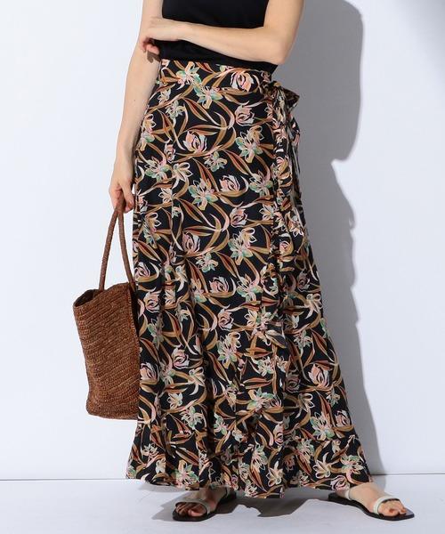 Demi-Luxe BEAMS(デミルクス ビームス)の「MARIHA / 別注 春の夕日のスカート(スカート)」|ブラック