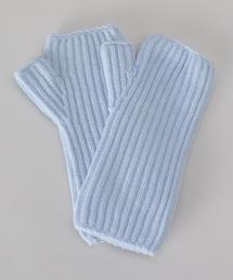 <JOHNSTONS>CASHMERE RIB FINGERLESS GLOVES/グローブ.