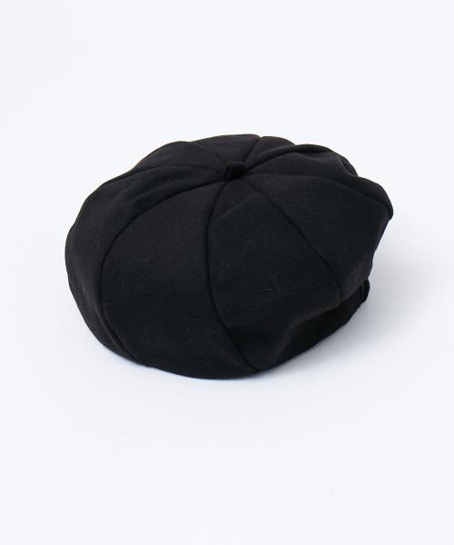 collex(コレックス)の「メルトンベレー(ハンチング/ベレー帽)」|ブラック
