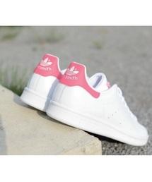 adidas(アディダス)の「adidas アディダス STAN SMITH FD スタンスミス FD F36576 *WHT/WHT/PNK(スニーカー)」