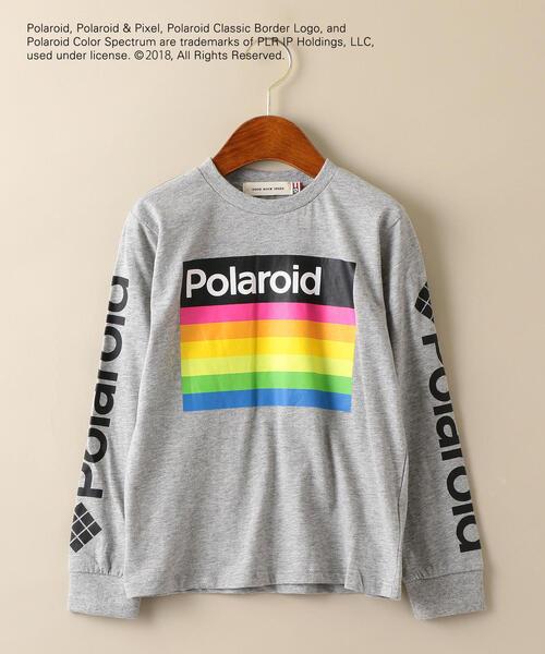 【キッズ】GOOD SPEED POLAROID ロングスリーブTシャツ ◆