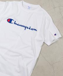 Champion(チャンピオン)のWEGO/ChampionロゴプリントTシャツ(Tシャツ/カットソー)