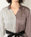 LOVELESS(ラブレス)の「【LOVELESS】WOMEN スプリットストライプシャツドレス(シャツワンピース)」|詳細画像