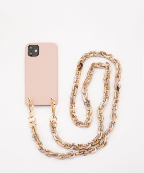 【IPHORIA アイフォリア】 アイフォンケース ネックレスケース ショルダーケース iPhone 11対応 Necklace Case for Apple iPhone 11 - Big strap Collection